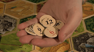 Card Numbered Tokens