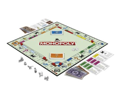 Monopoly Rules - Game Board