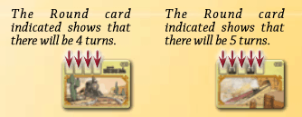 Colt Express Rules - Round Cards