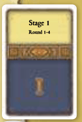 Agricola Blue Round Stage Cards
