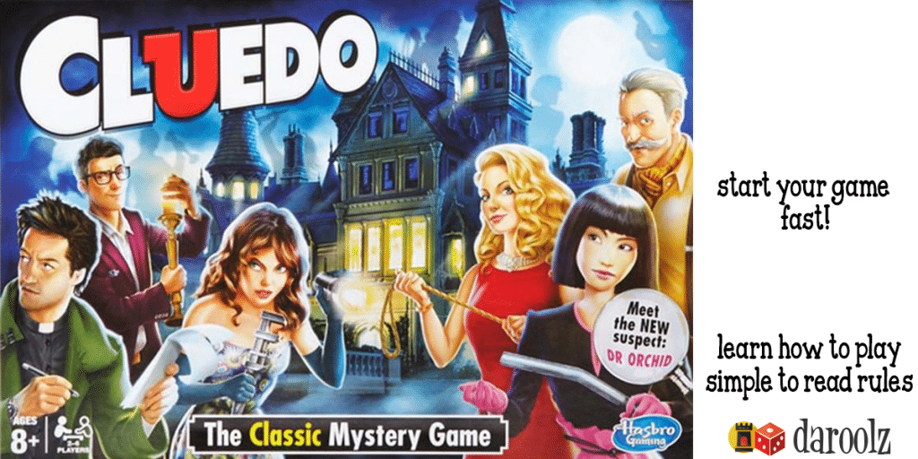 Learn how to play Cluedo