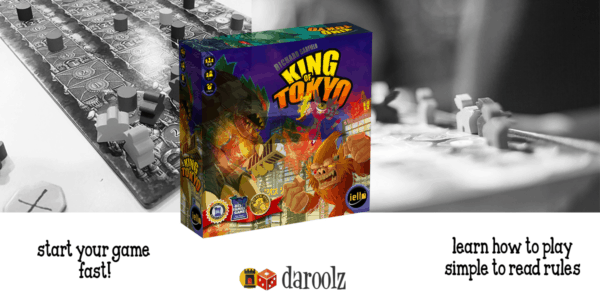 King of Tokyo Board Game Review