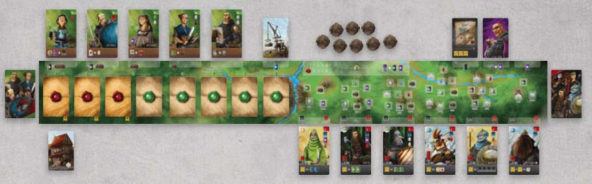 Recommended Worker Placement Board Games - Paladins of the West Kingdom 3