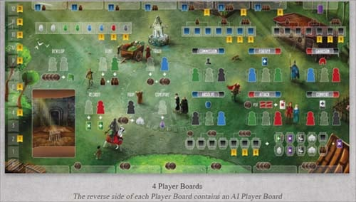 Recommended Worker Placement Board Games - Paladins of the West Kingdom 4