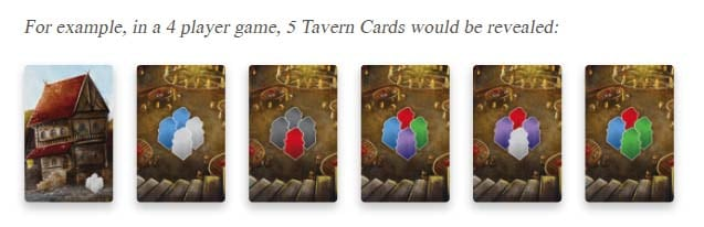 Paladins of the West Kingdoms Rules - Tavern Cards